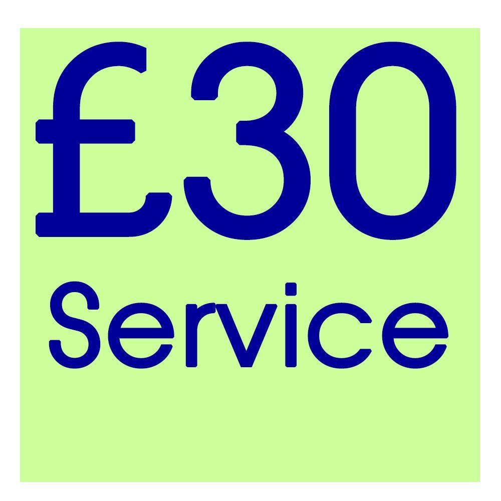 RP01 - Standard Repair or Service   --  £30  --