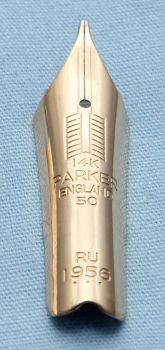 N485 - Parker Duofold Maxima #50 Medium Nib