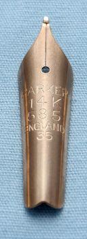 N504 - Parker Duofold Senior #35 Medium Nib