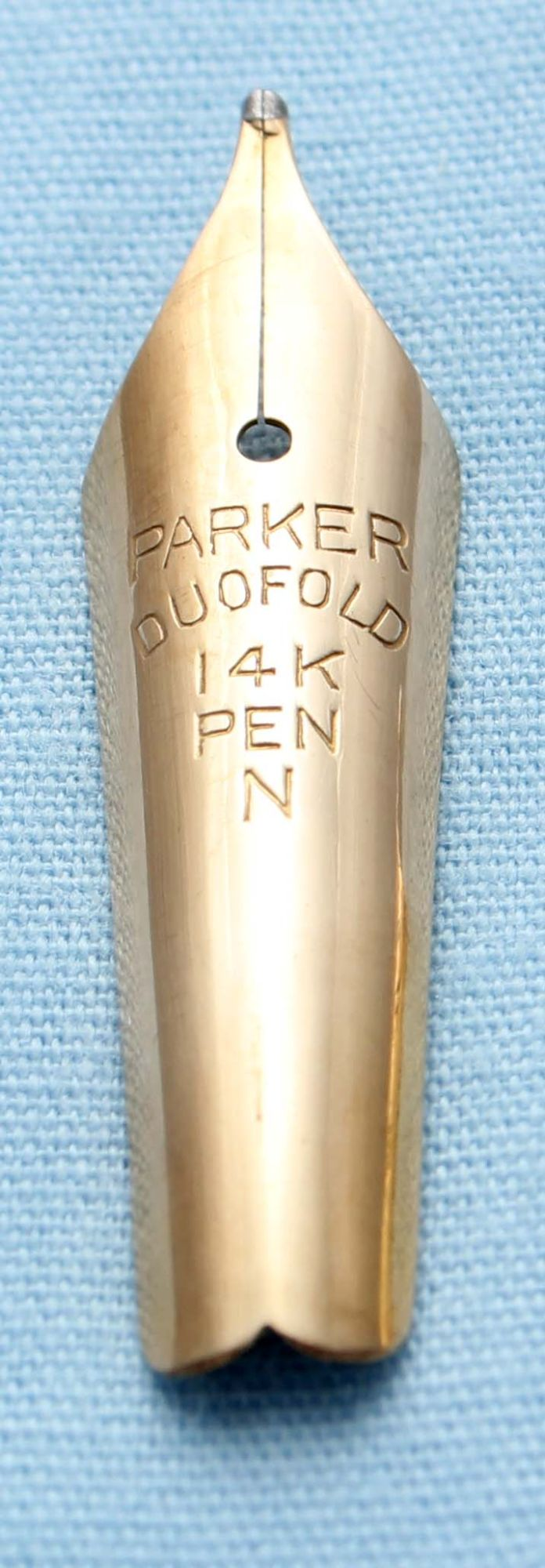 N506 - Parker Duofold Medium Nib