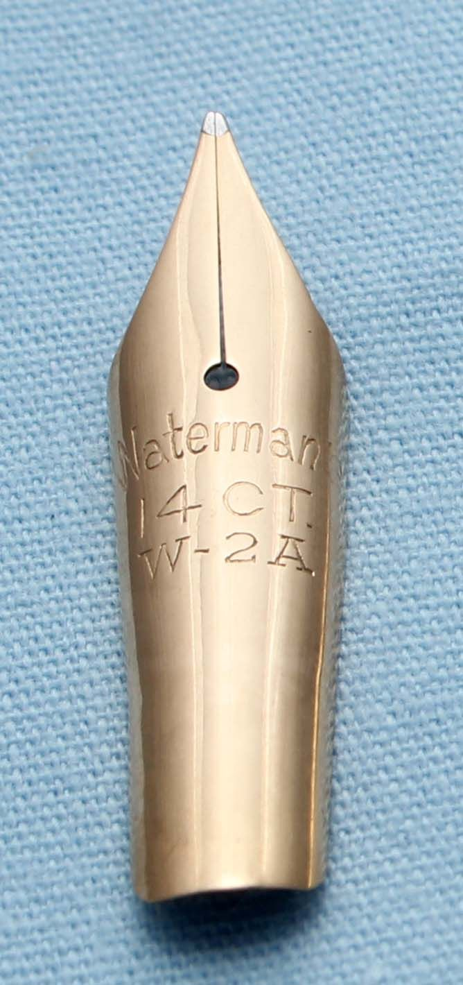 N491  - Waterman W-2A  Fine Flex Nib