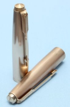 Parker 61 Cirrus Cap in Rolled Gold. Made in UK (S305)