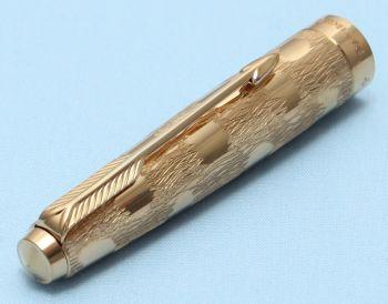 Parker 61 Cumulus Cap in Rolled Gold. Made in UK. (S306)