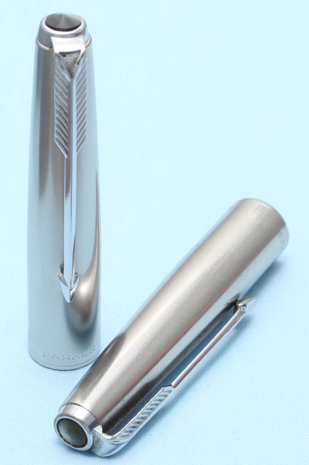 Parker 61 Cap in Lustraloy. Made in USA. (S302)