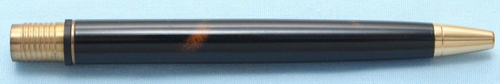 Watermans Exclusive Ball Pen Barrel in Brown and Black Tortoise (S510)