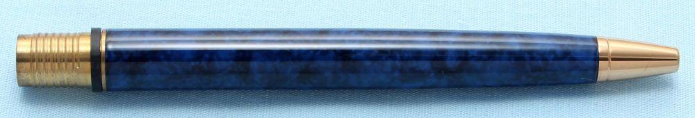 Watermans Exclusive Ball Pen Barrel in Blue Marble (S509)