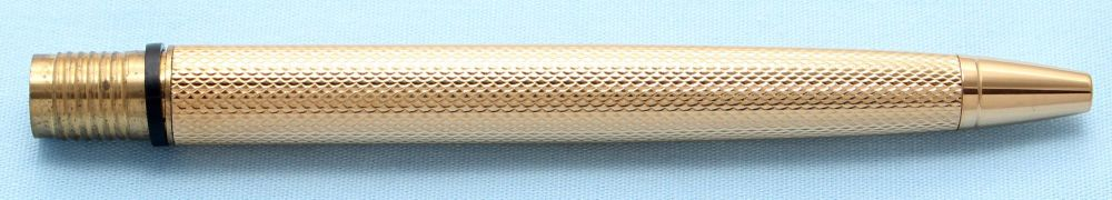 Watermans Exclusive Ball Pen Barrel in Gold Fine Barley (S503)