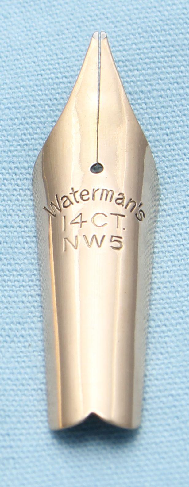 N529  - Waterman W5 Medium Flex Nib