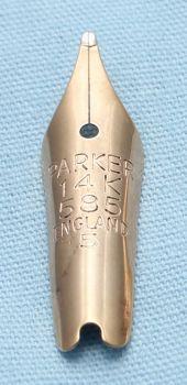 N530- Parker Duofold #5 Medium Nib
