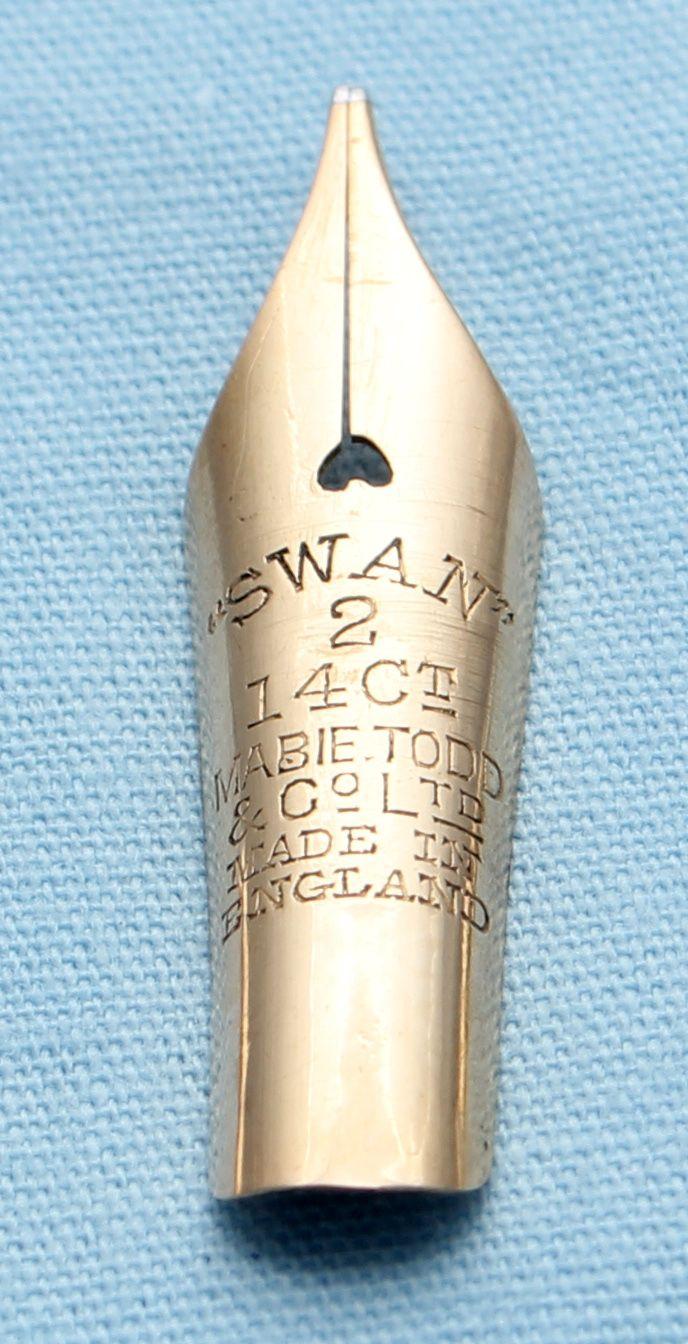 N557  - Swan #2  Fine Flex Nib