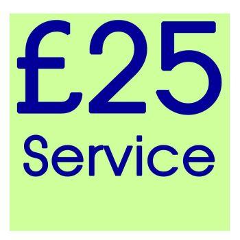 RP025 - Standard Repair or Service
