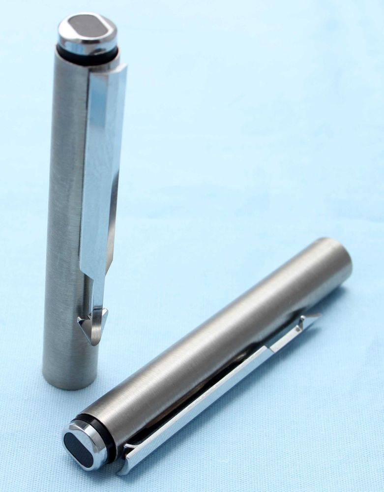 Parker Arrow Pencil Cap in Brushed Stainless Steel. (S247)