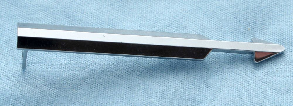 Parker Arrow Pencil Clip in Polished Chrome. (S249)