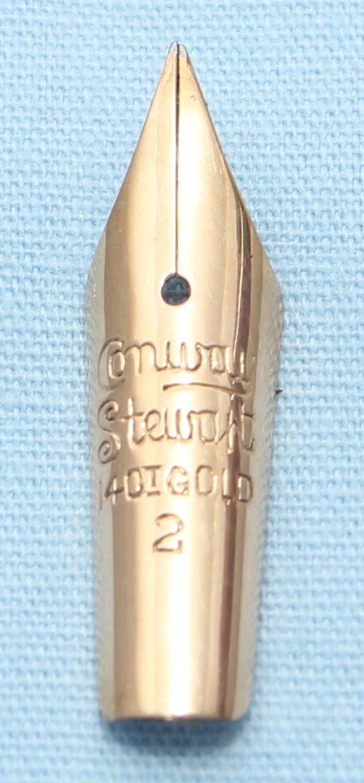 N618  - Conway Stewart No.2 Fine Semi Flex Nib