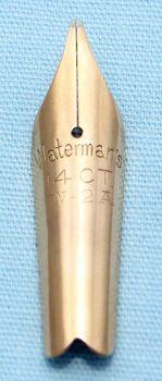 N597 - Waterman W-2A Medium Nib