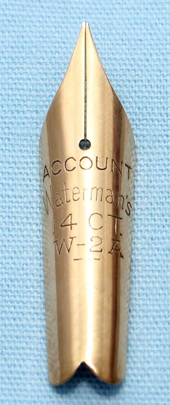 N612 - Waterman W-2A Fine Nib