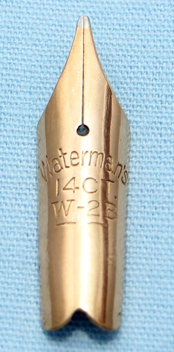 N613  - Waterman W-2B Medium Nib