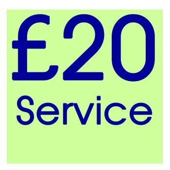 RP020 - Standard Repair or Service