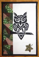 Grumpy Owl Day - patchwork kit.