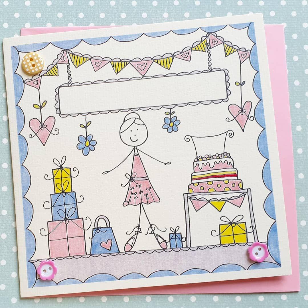 Pretty Ballerina Card