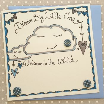 Baby Boy Dream Big Little One