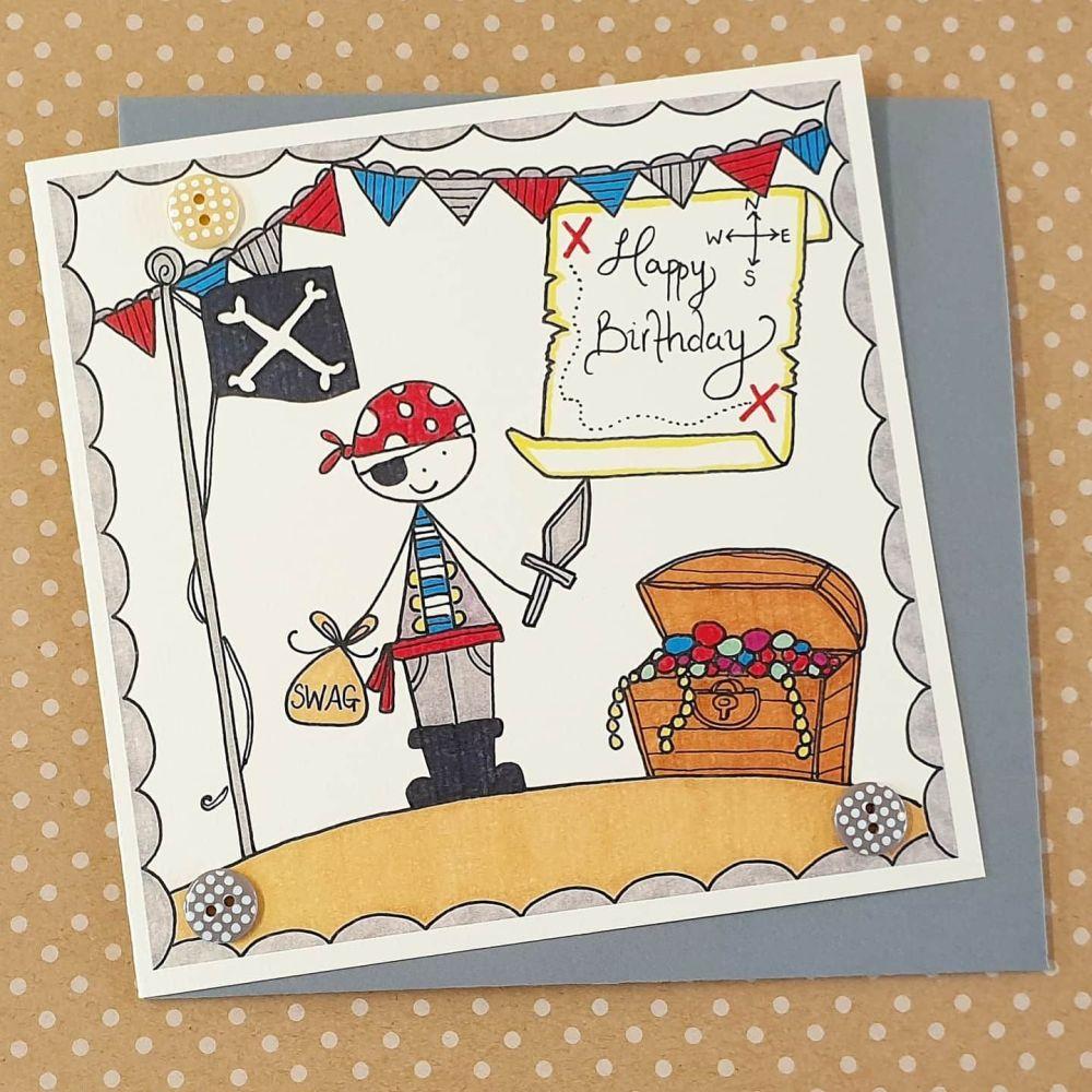 Cheeky Pirate Card