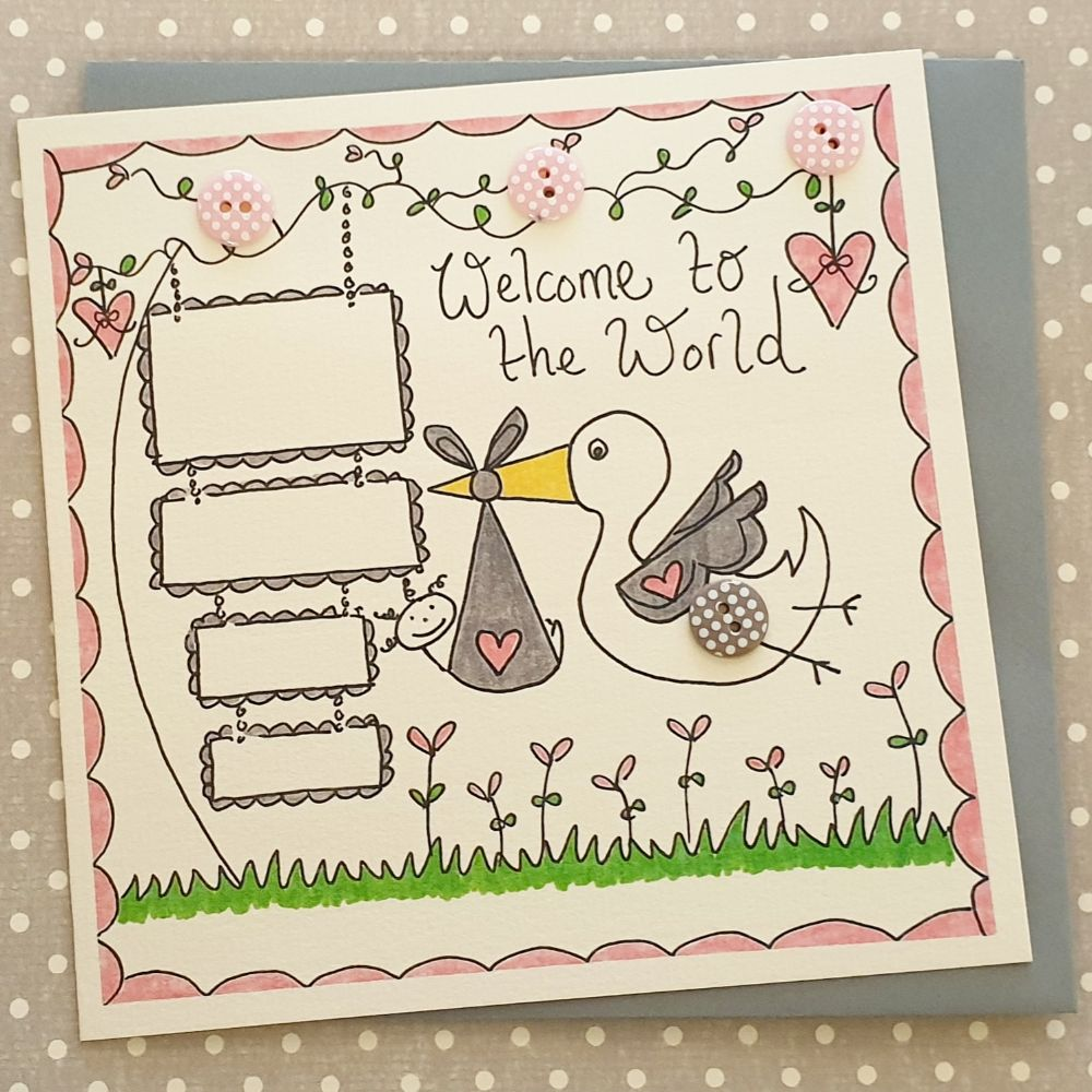 New Baby Cards, Christening Cards & Keepsake Gifts