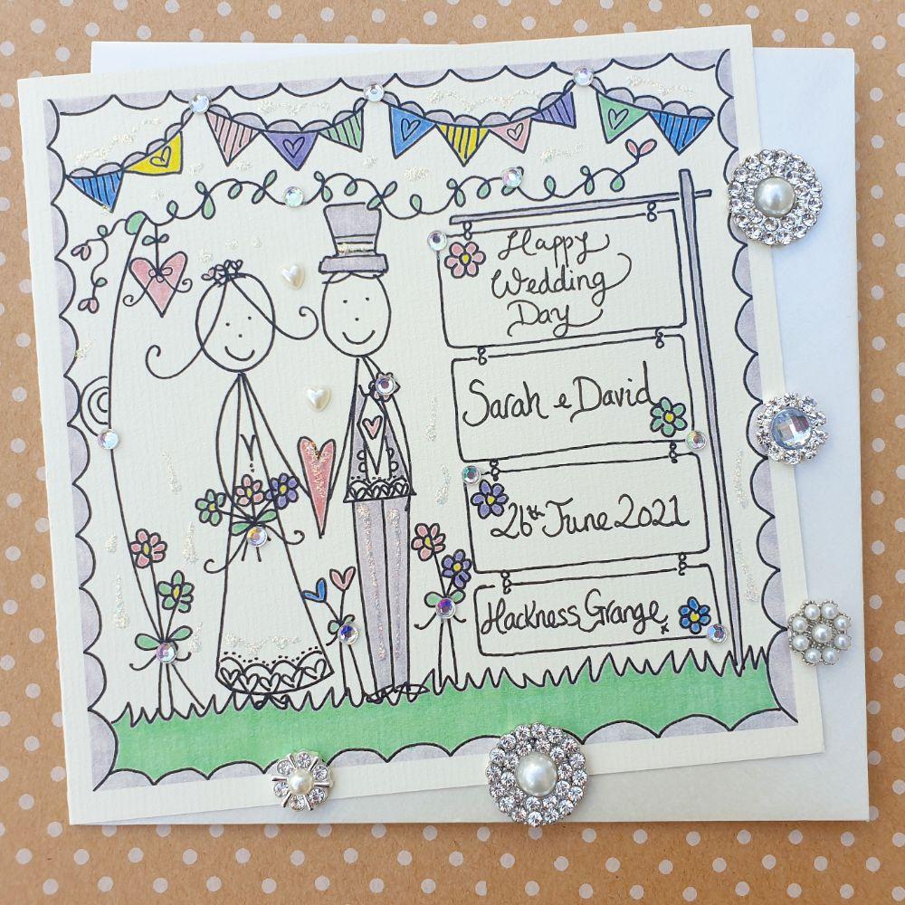 Wedding Cards, Keepsake Gifts & Acceptance Cards