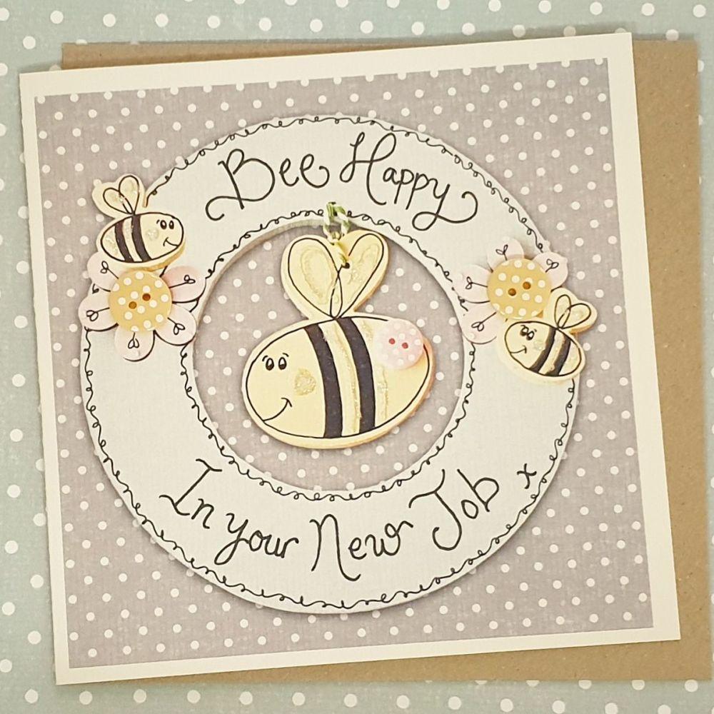 Bee Happy in your New Job