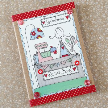 Pretty Notebook for Recipes