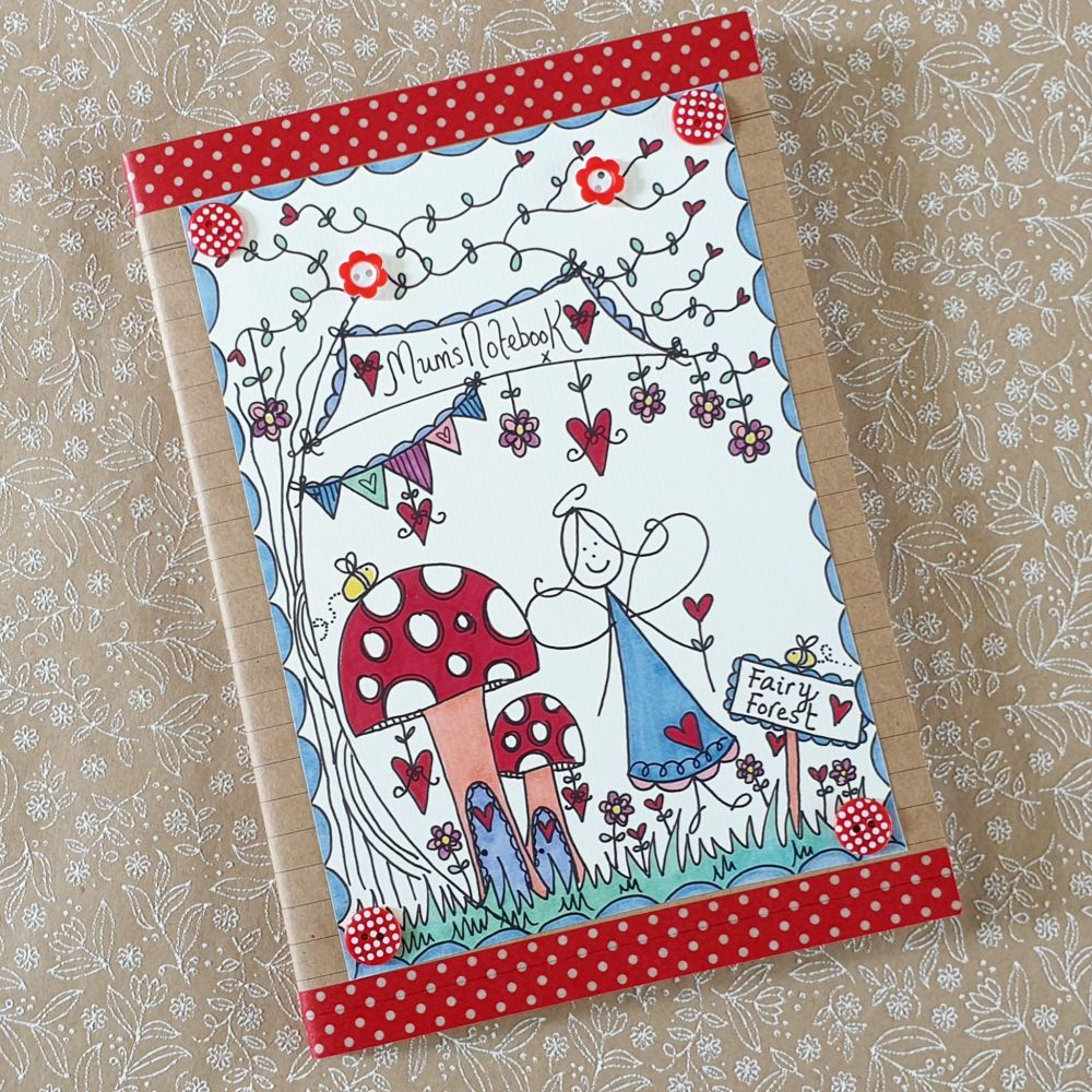 Pretty Fairy Forest Notebook