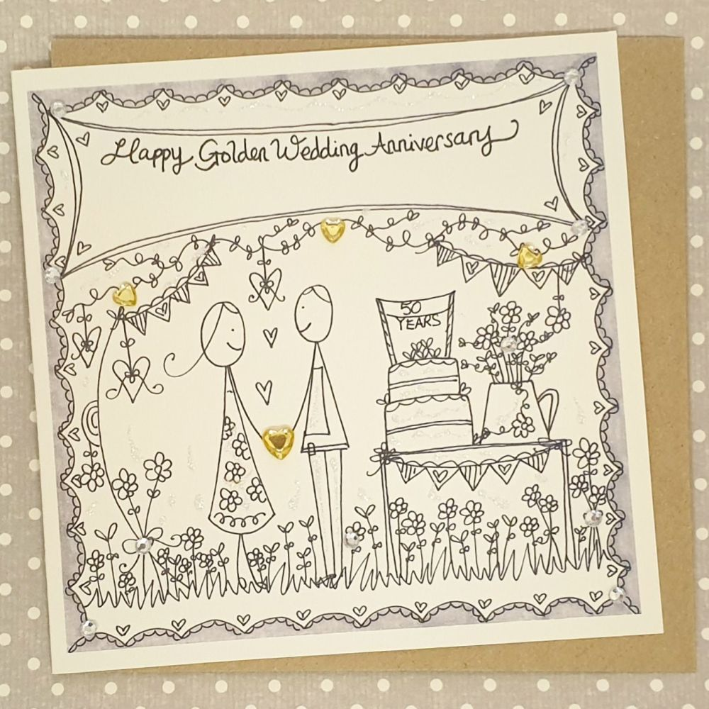 50 Golden Years Couple