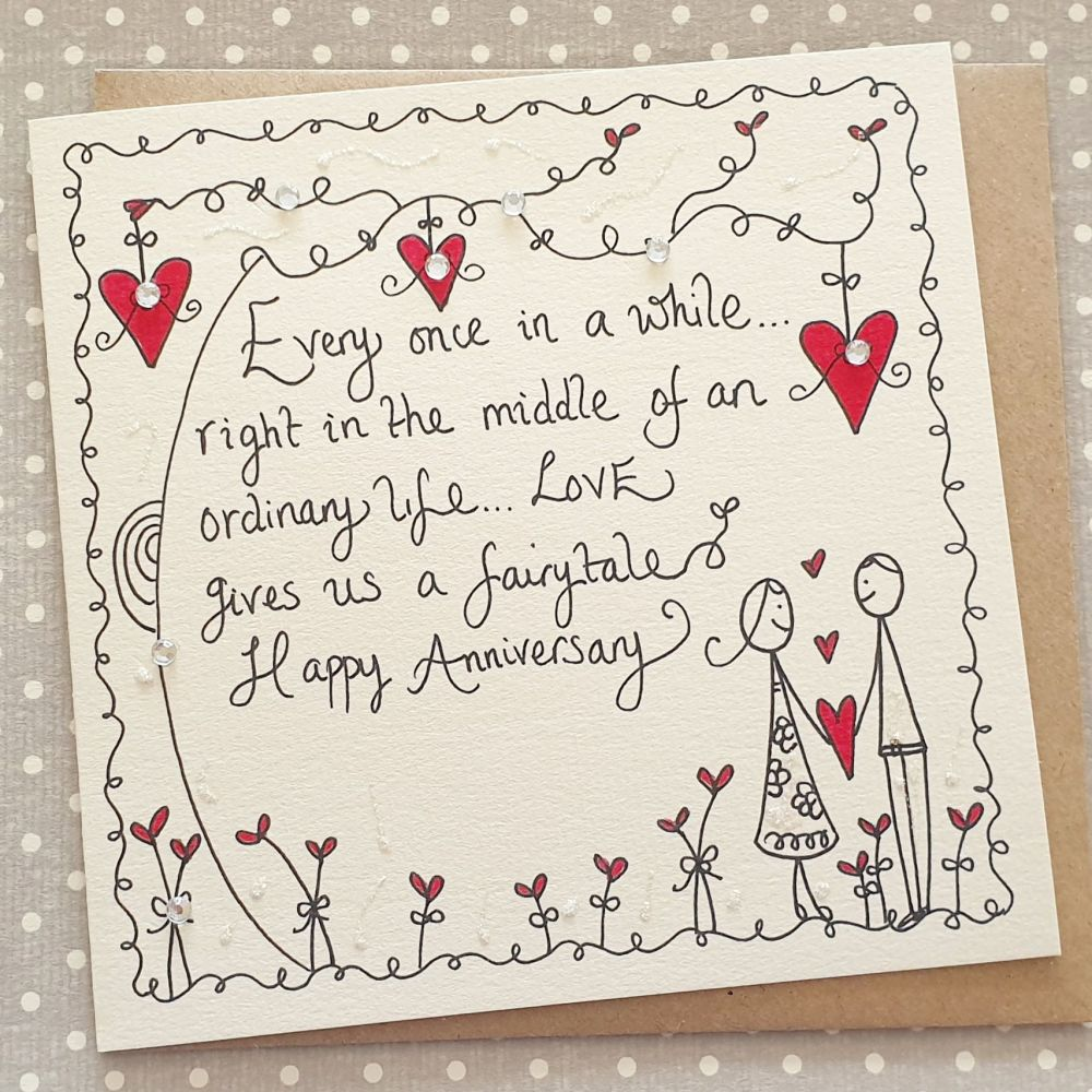 Love Gives Us a Fairytale Anniversary
