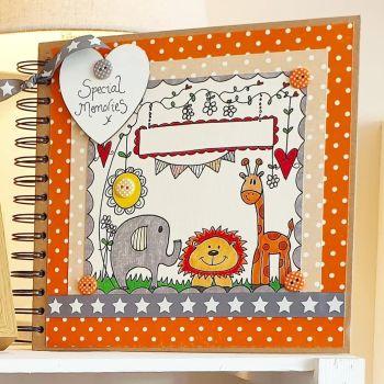 Safari style Special Memory Scrapbook