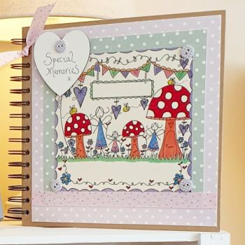 Fairy style Special Memory Scrapbook