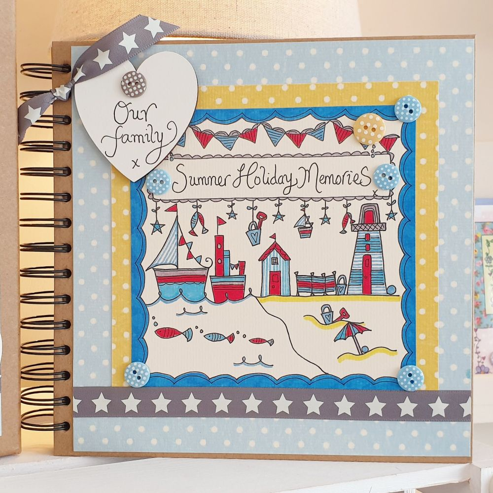 Family Holiday Special Memory Scrapbook