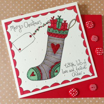 Sparkly Christmas Stocking