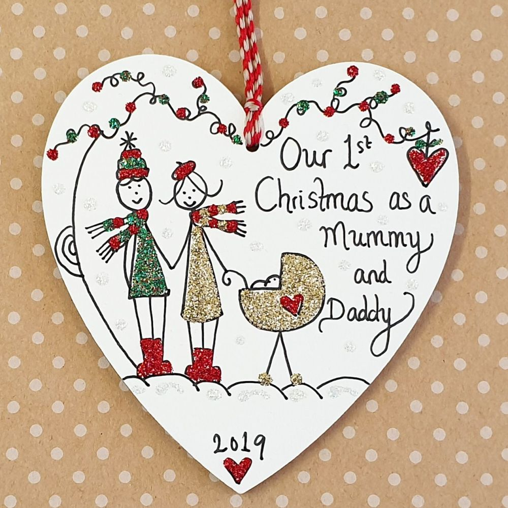 First Christmas as a Mummy and Daddy