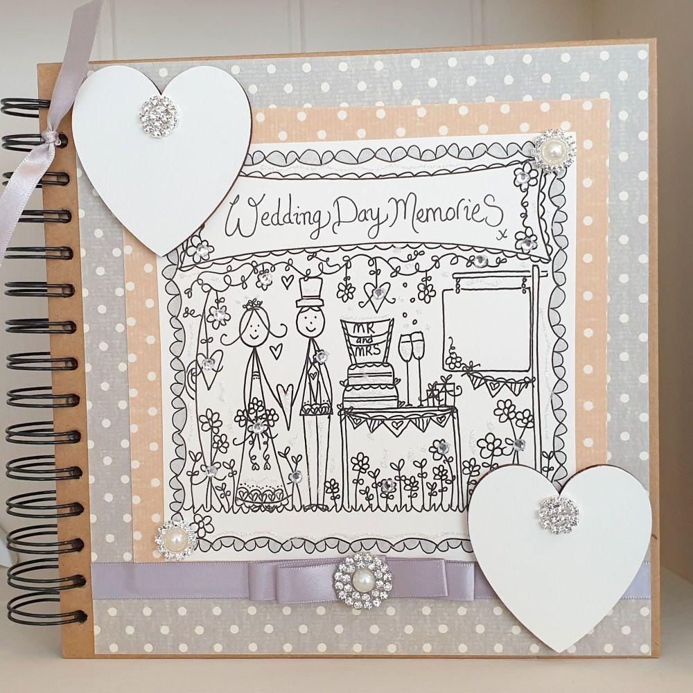 Keepsake Wedding Memories Scrapbook