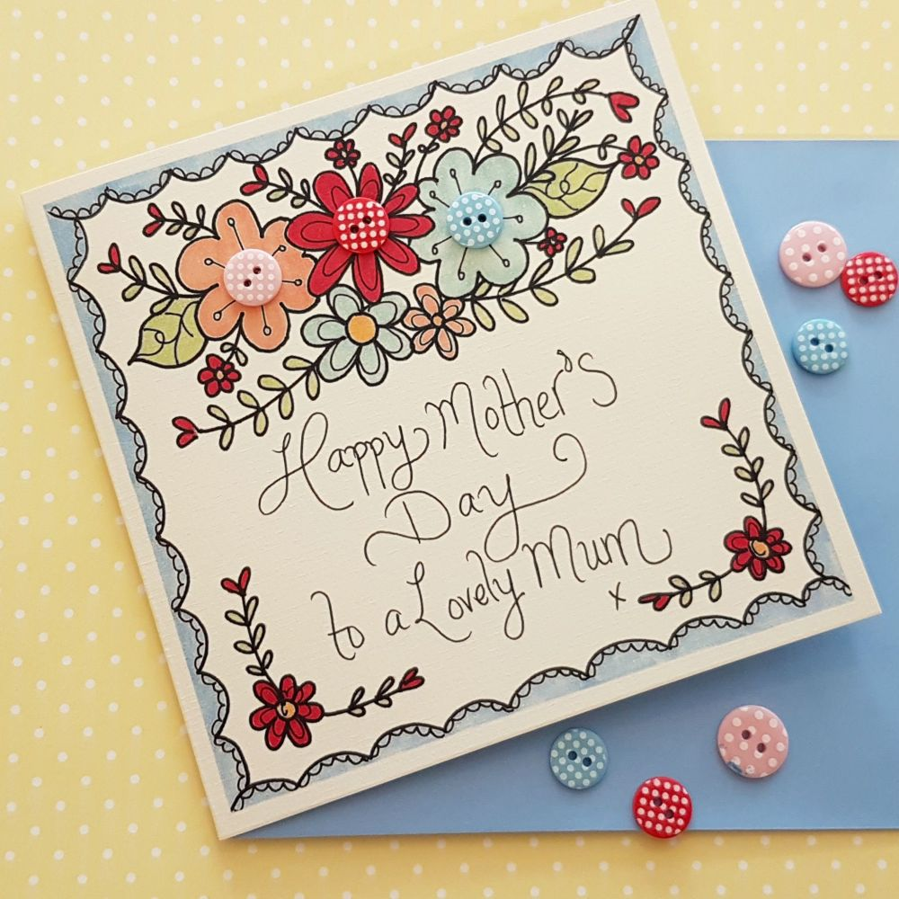 Folky Floral Mother's Day