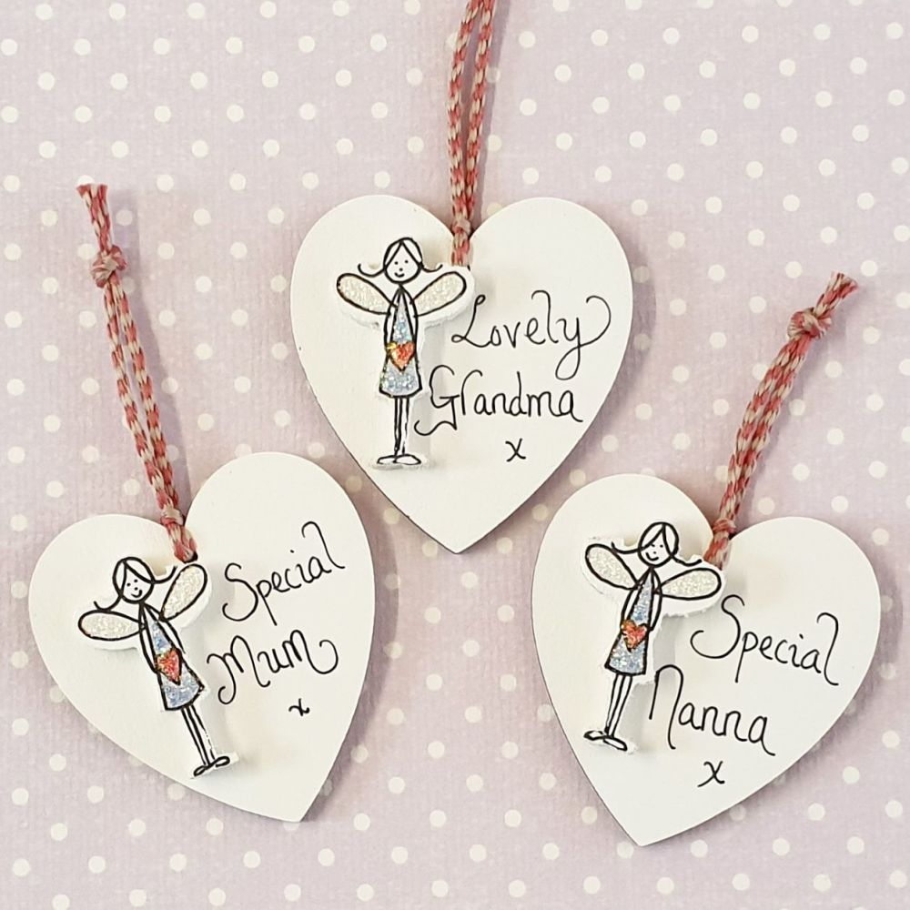Mini Sparkle Fairy Hearts