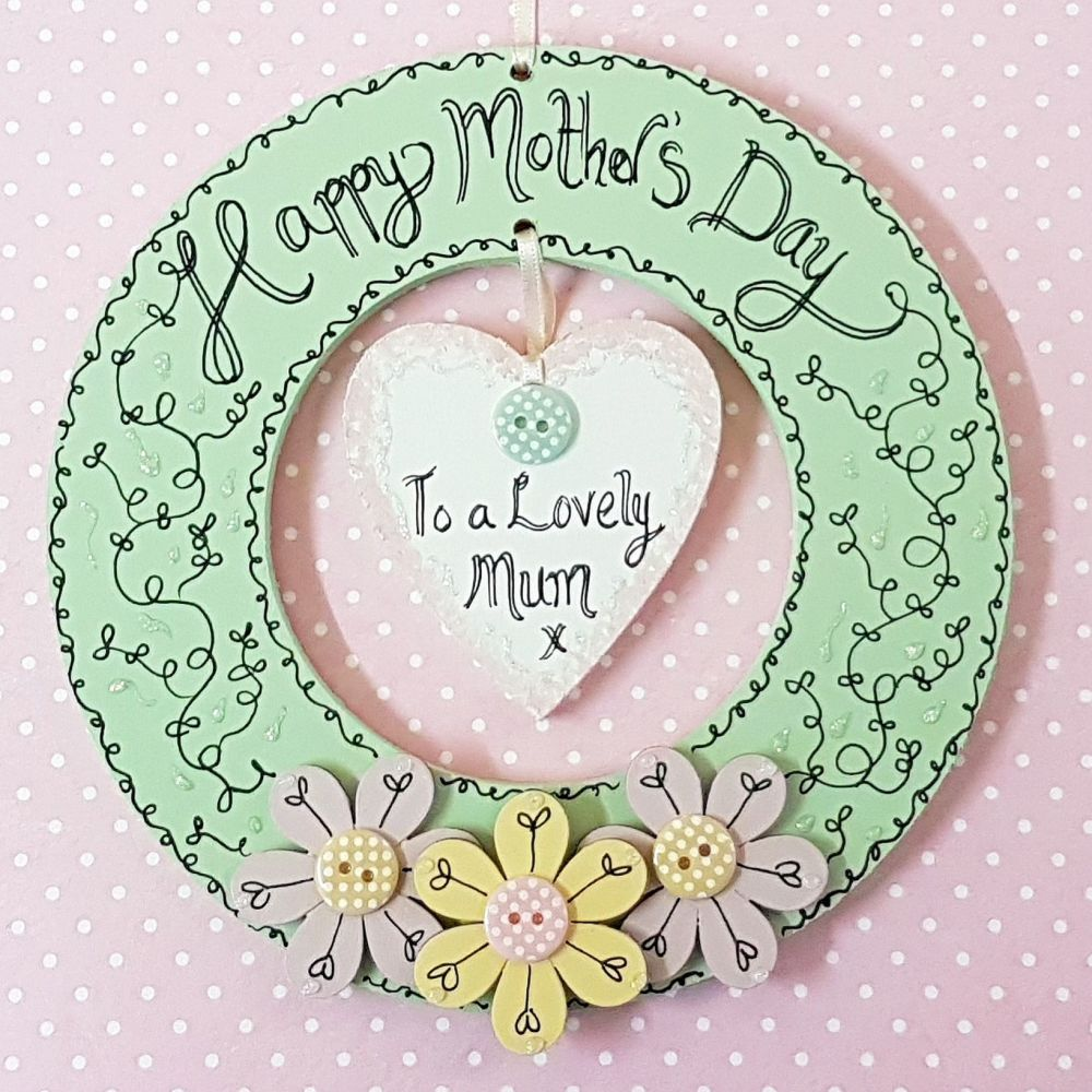 Happy Mother's Day Wreath