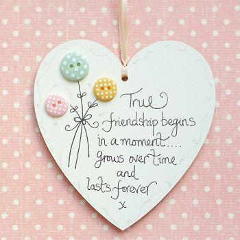 True Friendship Heart