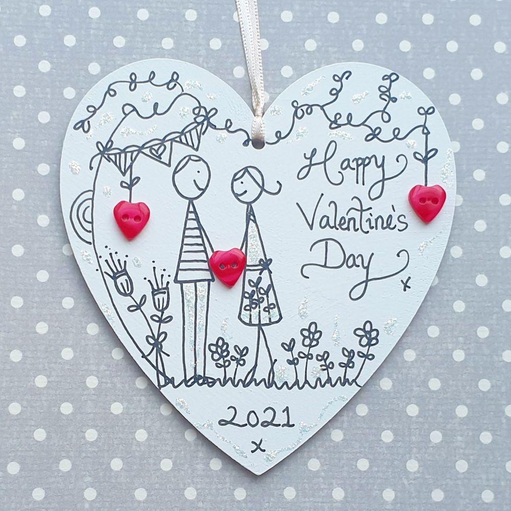 Valentine's Day Heart Illustration