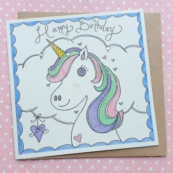 Sparkly Pretty Unicorn