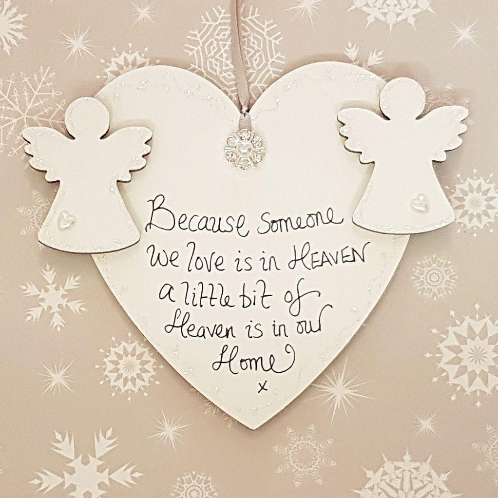 Someone We Love Is In Heaven Heart