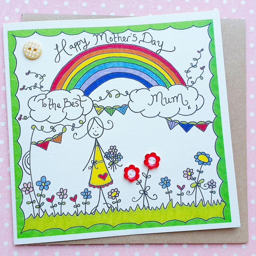 Mum's Rainbow Garden