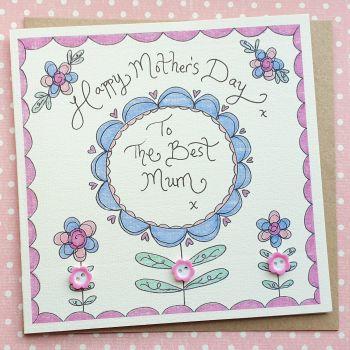 Pretty Floral Card