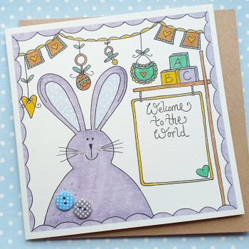 Baby Boy Bunny and Bunting