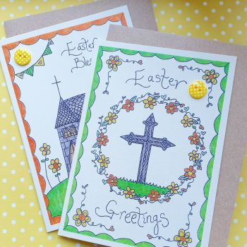 Easter Blessings Pack of 6 Cards
